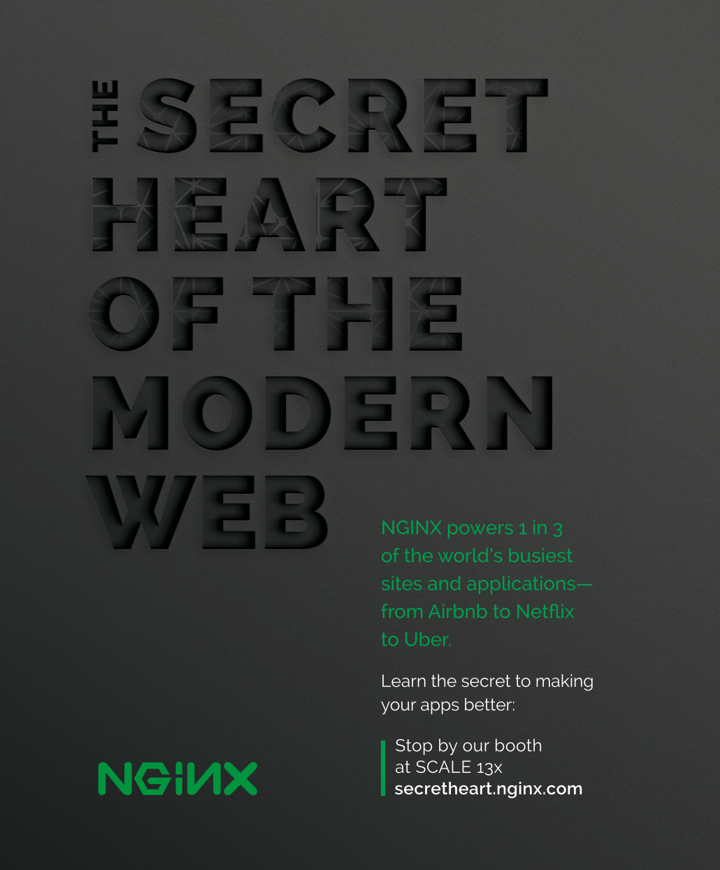 NGINX is the secret heart of the modern web