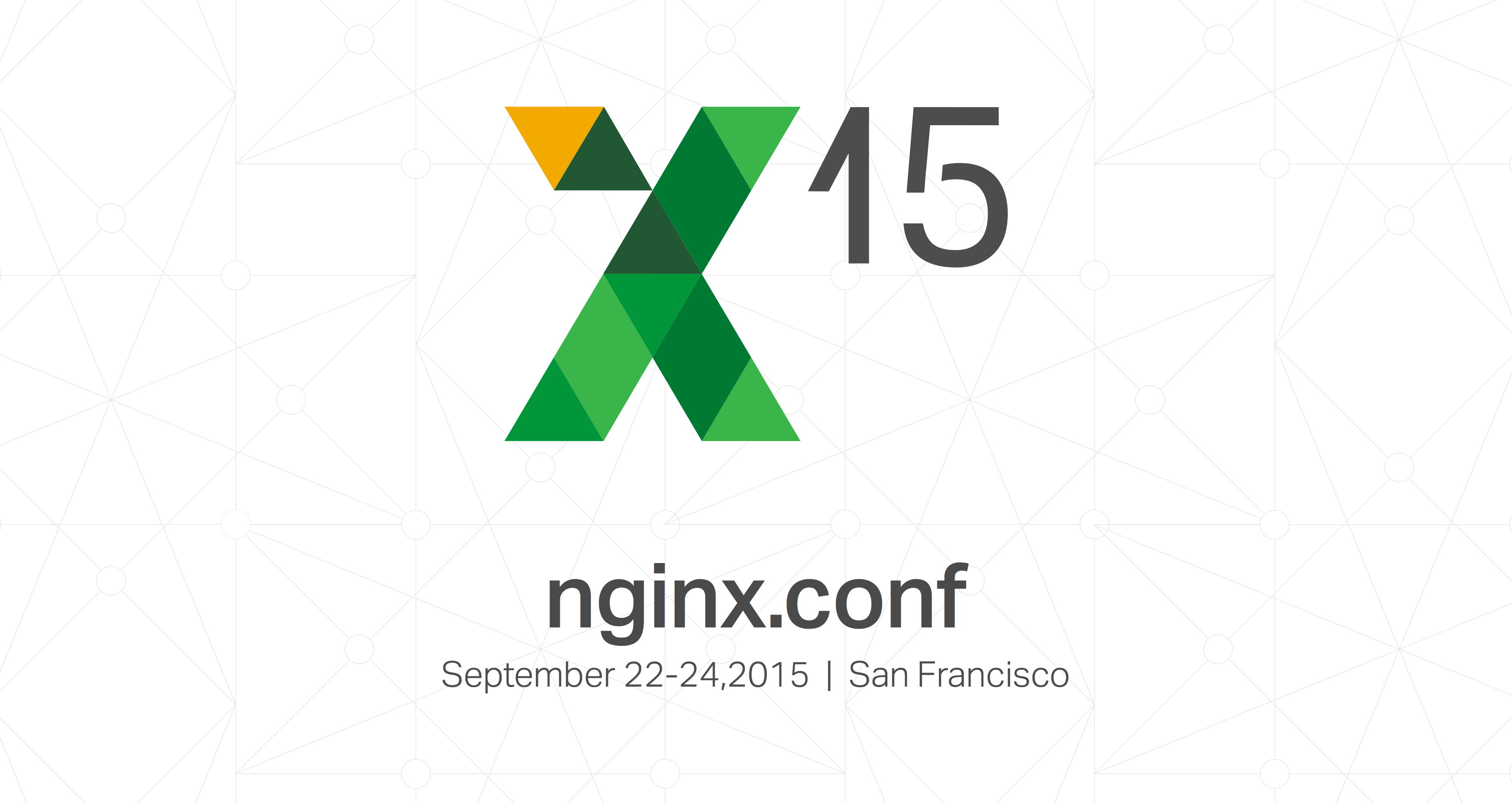 nginx.conf 2015 date location San Francisco September 22-24