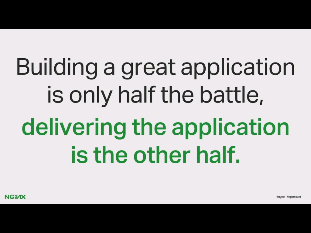 Developers fight half the battle writing great apps, NGINX and NGINX Plus fight the other half delivering them