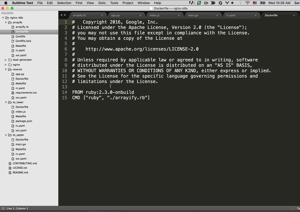Webinar - GCP - Demo 2-10 Docker File