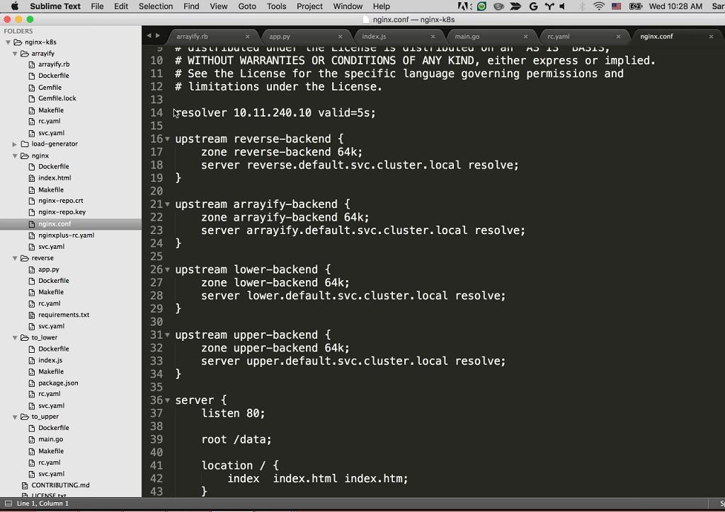 Webinar - GCP - Demo 2-12 NGINX Configuration