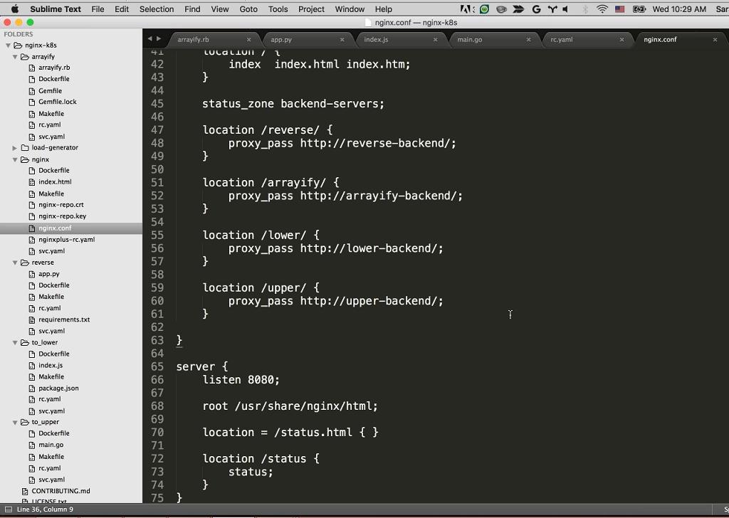 Webinar - GCP - Demo 2-14 NGINX Configuration server2