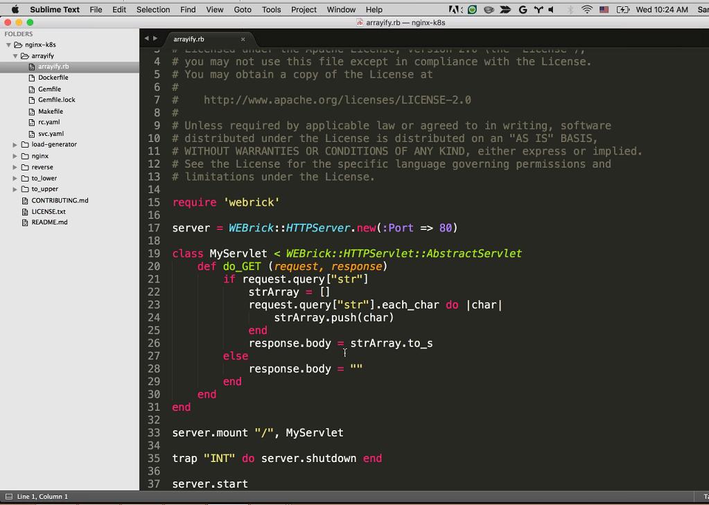 Webinar - GCP - Demo 2-2 Arrayify Code