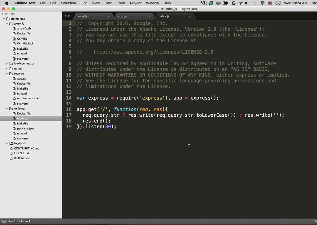 Webinar - GCP - Demo 2-4 to_lower Code