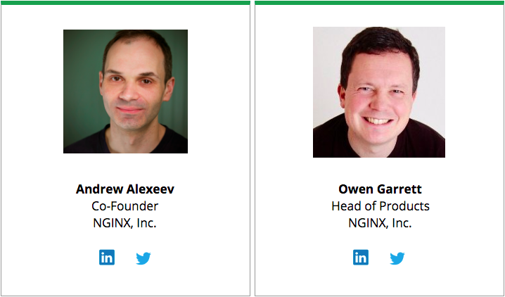 Image of the presenters of the High-Performance Caching webinar