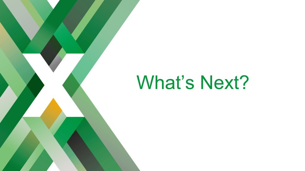 Section title slide reading 'What's Next' [keynote presentation by NGINX Head of Products Owen Garrett at nginx.conf2016]
