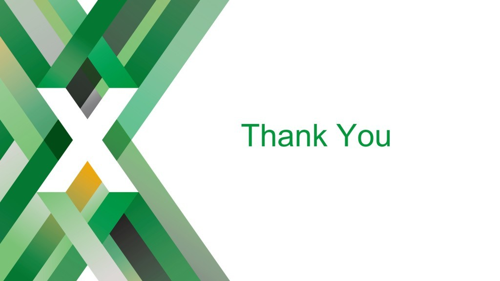 Slide reading 'Thank You' [keynote presentation by NGINX Head of Products Owen Garrett at nginx.conf2016]