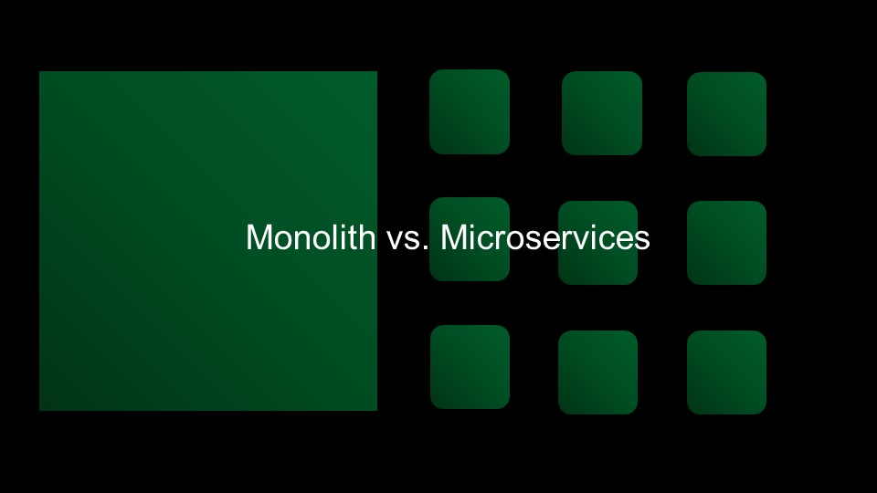Monolith vs. Microservices [presentation by Gus Robertson of NGINX at nginx.conf 2016]