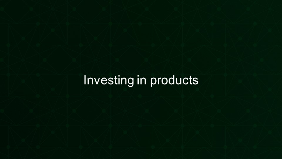 Investing in products [presentation by Gus Robertson of NGINX at nginx.conf 2016]