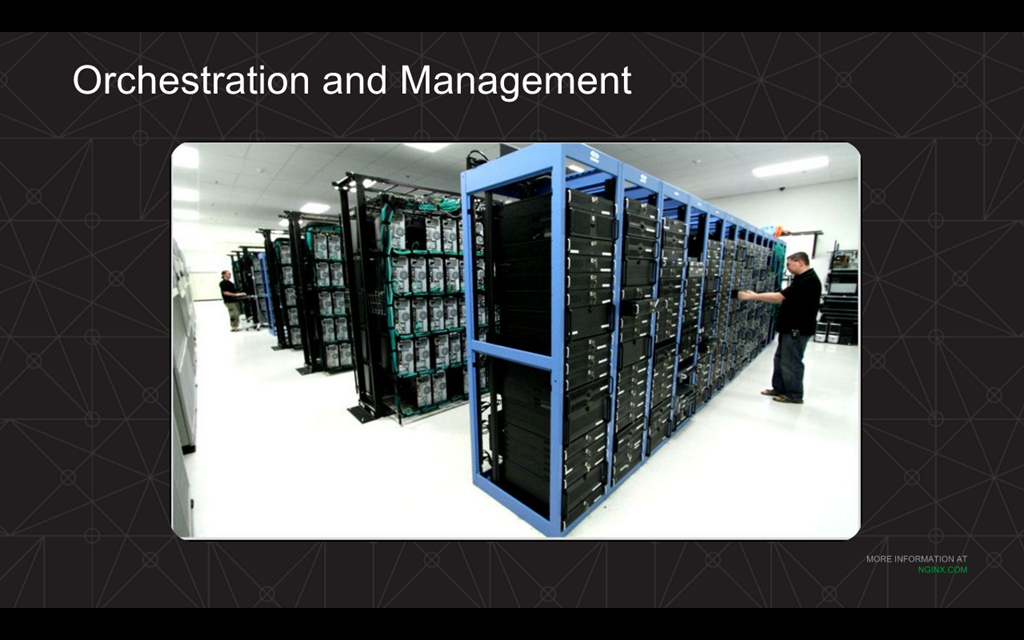 Webinar - 3 Ways to Automate - Slide 10 - Orchestration and Management Datacenter