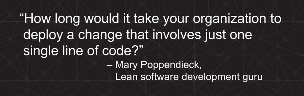Webinar - 3 Ways to Automate - Slide 3 - Poppendieck quote