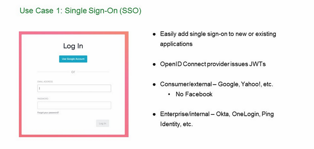 Native support for JWT makes it easy to add single sign-on (SSO) for traditional backend apps [NGINX Plus R10 webinar]