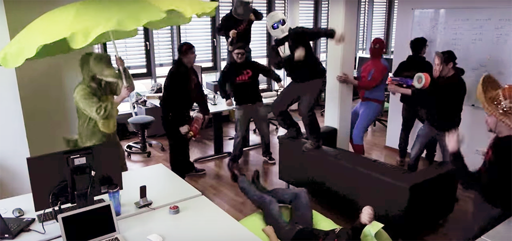 Team Internet Image of Team on a Regular Thursday